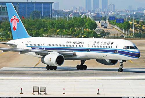 南航的波音757客机; 波音757座位图;
