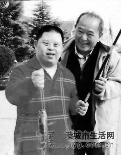 倪萍儿子是智障_