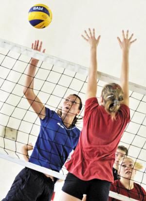 有益的国际交流比赛,对促进我省排球运动的发展大有帮助.