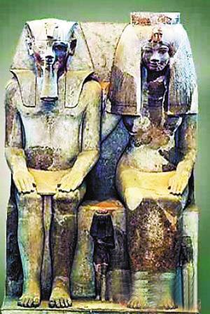 究专家们宣布,古埃及图坦卡蒙法老的祖母泰雅王后(Queen Tiye)图片
