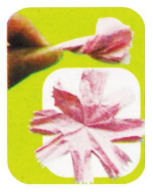 皱纹纸康乃馨的做法步骤图解