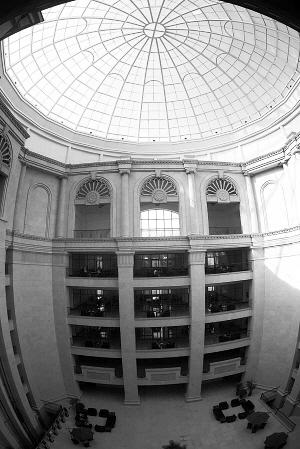 长春/长春建筑学院图书馆是该省第一家欧式图书馆