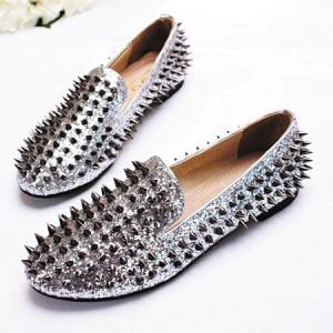 铆钉鞋 christian louboutin valentino 铆钉高跟鞋