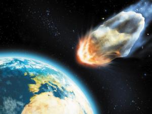 梦见陨石撞击地球