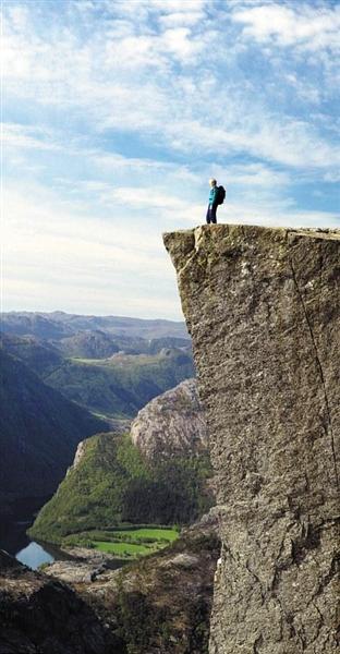 悬崖风景图高清
