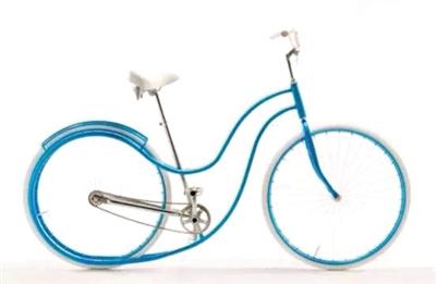 为女音乐家设计的   韵律自行车