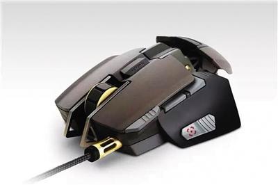 设计,鼠标的众多零部件都建立在简单结构的铝制折叠