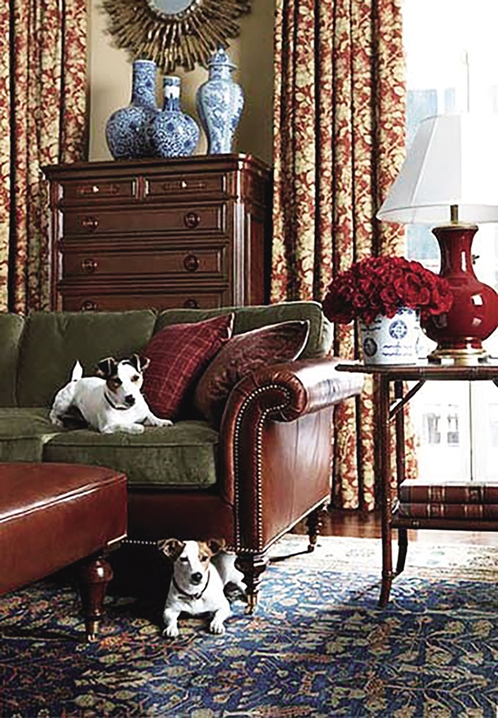 英式古典复古雍容华贵   受传统文化的影响,英式古典风格华丽而图片