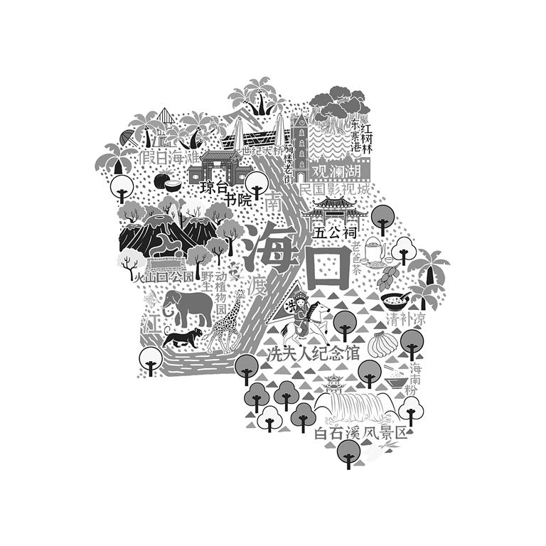 手绘海岛地图获国际大奖