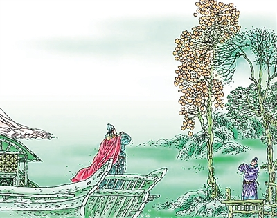 """一个网站""""唐宋文学编年地图"""",图上有135位唐宋著名诗人一生的迁徙轨迹"""